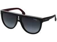 Carrera 1000 S Matte Black Red Grey Gradient Fashion Sunglasses