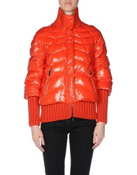 Ice Iceberg Down Jackets Red