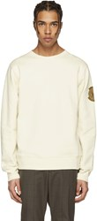 Stella Mccartney Ivory Embroidered Pullover