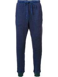Goodlife Cuffed Tapered Trousers Blue