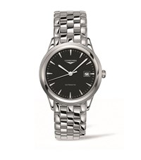 Longines Flagship Stainless Steel Watch Unisex Black