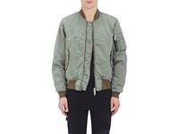 Ben Taverniti Unravel Project Women's Insulated Distressed Bomber Jacket Green Dark Green