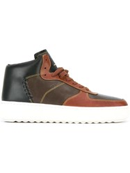 Coach 'Patchwork C210' Sneakers Brown