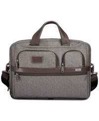 Tumi Men's T Pass Medium Slim Laptop Briefcase Gray