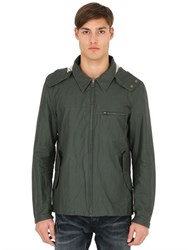 Spiewak Hooded Coated Linen Jacket