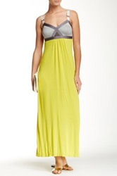 Vpl Convexity Breaker Maxi Dress Yellow