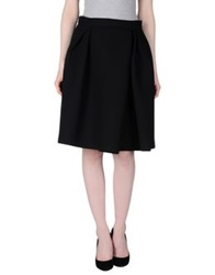Dice Kayek Knee Length Skirts Black