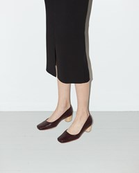 Rachel Comey Seneca Pump Bordo Floater