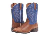 Ariat Sport Western Wide Square Toe Red Angus Brown Royal Cowboy Boots
