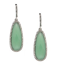 Lonna And Lilly Green Teardrop Earrings