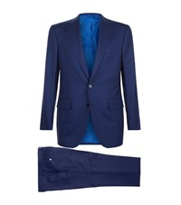 Stefano Ricci Single Breasted Suit Navy