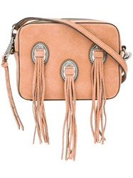 Rebecca Minkoff Western Crossbody Bag Nude Neutrals