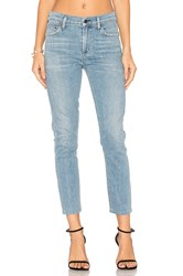 Citizens Of Humanity Rocket High Rise Crop Skinny Blue