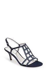 Women's Adrianna Papell 'Amari' Evening Sandal Navy Satin