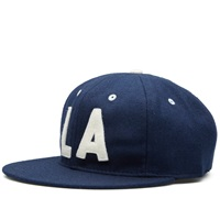 Ebbets Field Flannels Los Angeles Angels 1954 Cap Navy Wool