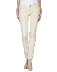 Ean 13 Denim Denim Trousers Women Beige