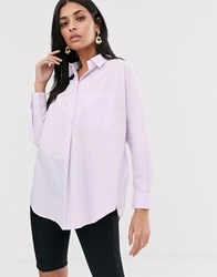 French Connection Cotton Shirt Purple