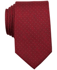 Bar Iii Porter Dot Slim Tie Only At Macy's Red