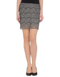 Cycle Skirts Mini Skirts Women Grey
