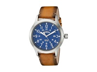 Timex Expedition Scout Tan Silver Tone Blue Watches