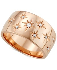Marchesa Diamond Star Band 1 6 Ct. T.W. In 18K White Gold Gold Or Rose Gold Created For Macy's