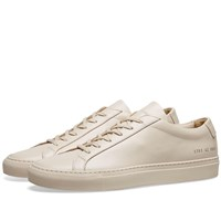 Common Projects Woman By Original Achilles Low Neutrals