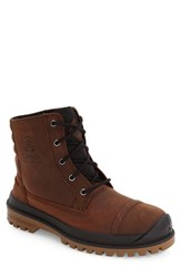 Kamik Men's Griffon Waterproof Boot Cognac Leather