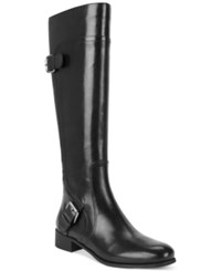 Nine West Sookie Wide Calf Riding Boots Women's Shoes
