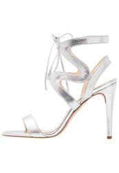 Mai Piu Senza High Heeled Sandals Argento Silver