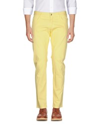 Shaft Casual Pants Yellow
