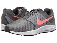 Nike Downshifter 7 Cool Grey Lava Glow Dark Grey White Women's Running Shoes Gray
