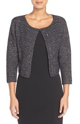 Women's Adrianna Papell Sequin Cotton Cardigan