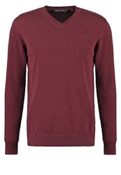 Teddy Smith Pulser Jumper Pourpre Chine Mottled Bordeaux