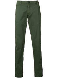 Zadig And Voltaire Slim Fit Trousers Green