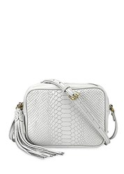 Gigi New York Madison Crossbody Bag White