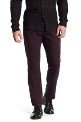 John Varvatos Bowery Knit Slim Fit Jean Red