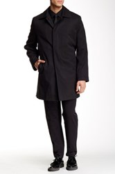 Hart Schaffner Marx Hewes Waterproof Raincoat Black