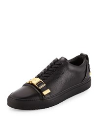 Buscemi Men's 50Mm Low Top Sneaker With Strap Black