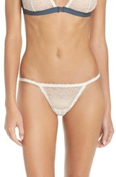 Chelsea 28 Women's Chelsea28 Lace String Thong