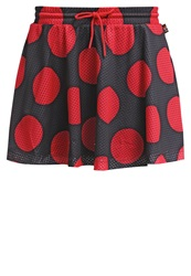 Adidas Originals Dearbaes Mini Skirt Black Red