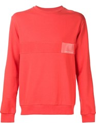 Gosha Rubchinskiy Side Zip Sweatshirt Red