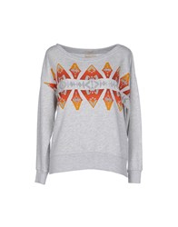 Denim And Supply Ralph Lauren Topwear Sweatshirts Women Light Grey