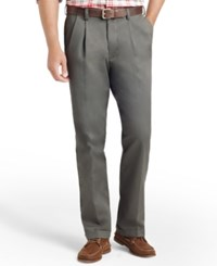Izod American Pleated Classic Fit Wrinkle Free Pleated Chino Pants