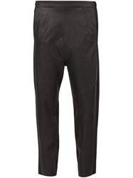 Ilaria Nistri Cropped Panelled Trousers Black