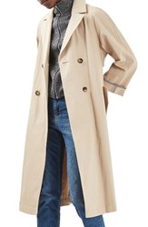 Topshop Women's Relaxed Trench Coat