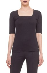 Akris Punto Women's Square Neck Jersey Tee