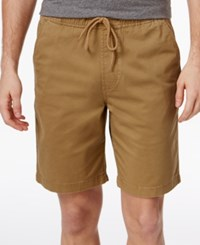 American Rag Men's Pull On Cotton Shorts Only At Macy's Dull Gold