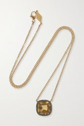 Fred Leighton Collection Silver Topped 18 Karat Gold Citrine Necklace Yellow