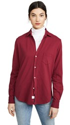 Frank And Eileen Button Down Bordeaux