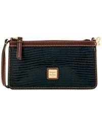 Dooney And Bourke Boxed Large Slim Wristlet A Macy's Exclusive Style Espresso